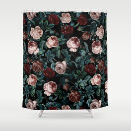 EXOTIC GARDEN - NIGHT XV Shower Curtain