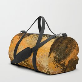 Abstract fall foliage Duffle Bag