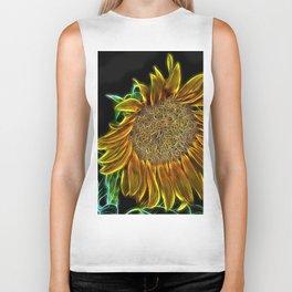 Sunflower Glow Biker Tank