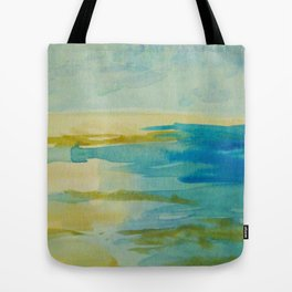 Lying On the Sand at Beachport Tote Bag