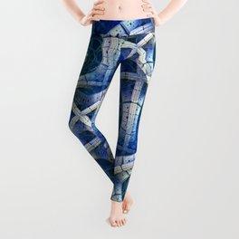3D - abstraction -e- Leggings