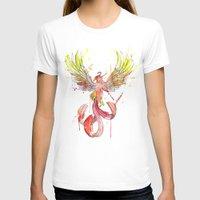 phoenix T-shirts featuring Phoenix by Simona Borstnar