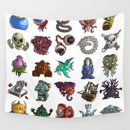 Terrarias All Bosses Wall Tapestry