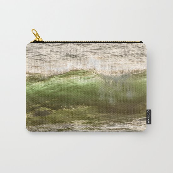 Green light water surf Carry-All Pouch