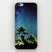 night sky iPhone & iPod Skins featuring NigHt SkY  by ''CVogiatzi.