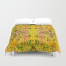 fresh stylized garden Duvet Cover