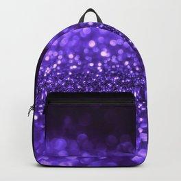 Pantone Color 2018 Ultra Violet Purple Glitter Backpack