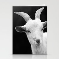 goat Stationery Cards featuring Goat by BACK to THE ROOTS