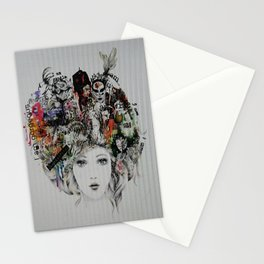 Positive Thoughts  Stationery Cards