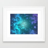 biology Framed Art Prints featuring Biology by Ashley