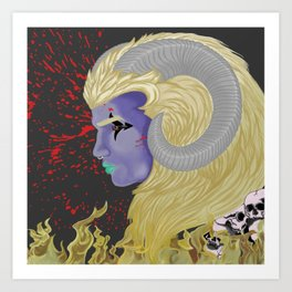 Ares Thrace Art Print