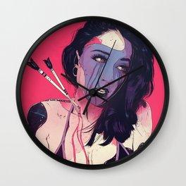 Outcast ✖ TiannaG Wall Clock