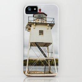 Grand Marais Lighthouse, Grand Marais, Minnesota 5 iPhone Case
