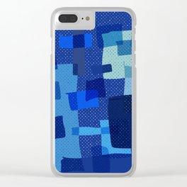 I'm Blue Clear iPhone Case