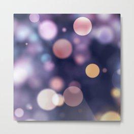 BLURRY DEFOCUSED LIGHTS V Metal Print