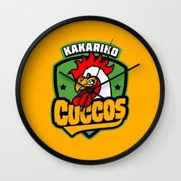 Kakariko Cuccos Wall Clock