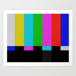 TV-DEFAULT Art Print