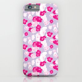 Quince flower pattern 2c iPhone Case