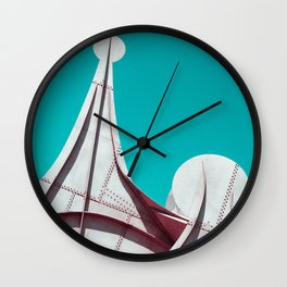 Surreal Montreal #4 Wall Clock