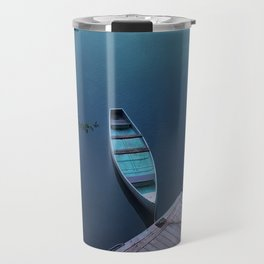 Blue Canoe Travel Mug
