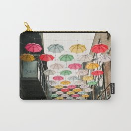 Ireland Dublin | Colorful street photography | Umbrella's Carry-All Pouch