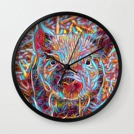 Funky little Piglet Wall Clock