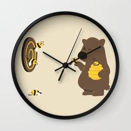 Bee game Wall Clock