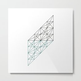 #232 The mad architect – Geometry Daily Metal Print