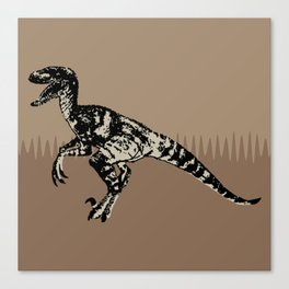 ChocoPaleo: Velociraptor Canvas Print