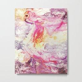 Deluge On Fire Metal Print