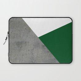 Concrete Festive Green White Laptop Sleeve