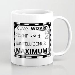 Wizarding Diploma Minus Infinity HP and Maximum Intelligence Coffee Mug