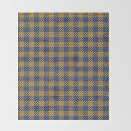 Abercrombie, Alpine, Resolution Blue, Camel, Plaid Throw Blanket