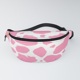 strawberry cow print Fanny Pack