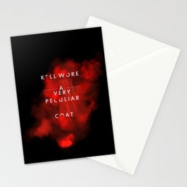 Kell wore a very peculiar coat  Stationery Cards