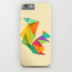 Fractal geometric Squirrel Slim Case iPhone 6