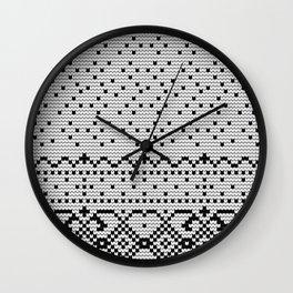 Pattern in Grandma Style #72 Wall Clock
