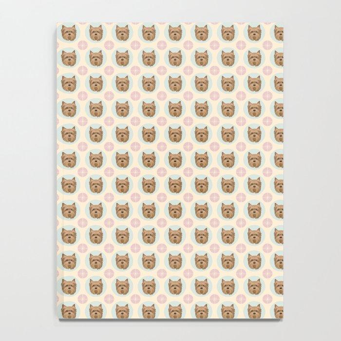 Yorkshire Terrier Pattern Notebook