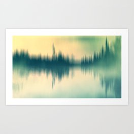Sound and color Art Print