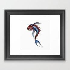 Fishie Framed Art Print