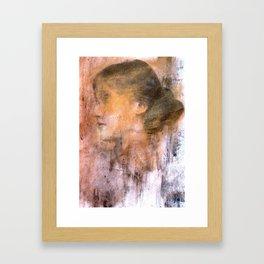 Dead girls: Virginia Woolf Framed Art Print