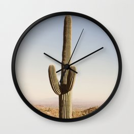 Giant Desert Cactus Wall Clock