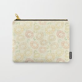 smiley flowers Carry-All Pouch
