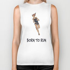 BORN TO RUN Biker Tank