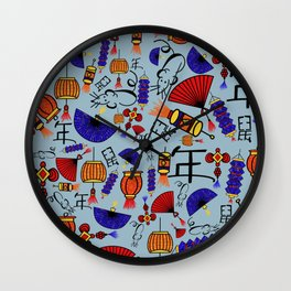 Chinese New Year, year of the rat 2020 Wall Clock