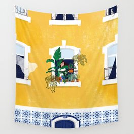 Lisbon girl Wall Tapestry