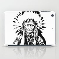 native american iPad Cases featuring Native by Lauryn Danae