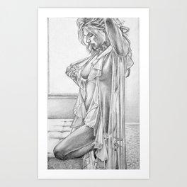 Boudoir 1 Art Print