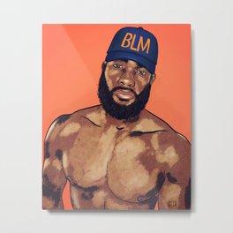 BLM Metal Print