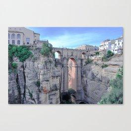 Puente Nuevo over El Tajo Canvas Print